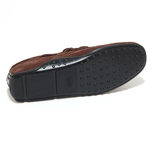0510M mocassini uomo marroni TOD'S laccetto gomma scarpe loafers shoes men marrone tabacco Aclaramiento Mejor Comprar En Línea Barata Elegir Una Mejor Para La Venta Rw2np