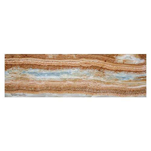 (Dragonhome Fish Tank Background Marble Stone Background PVC Adhesive Decor Paper Sticker L35.4 x H19.6)