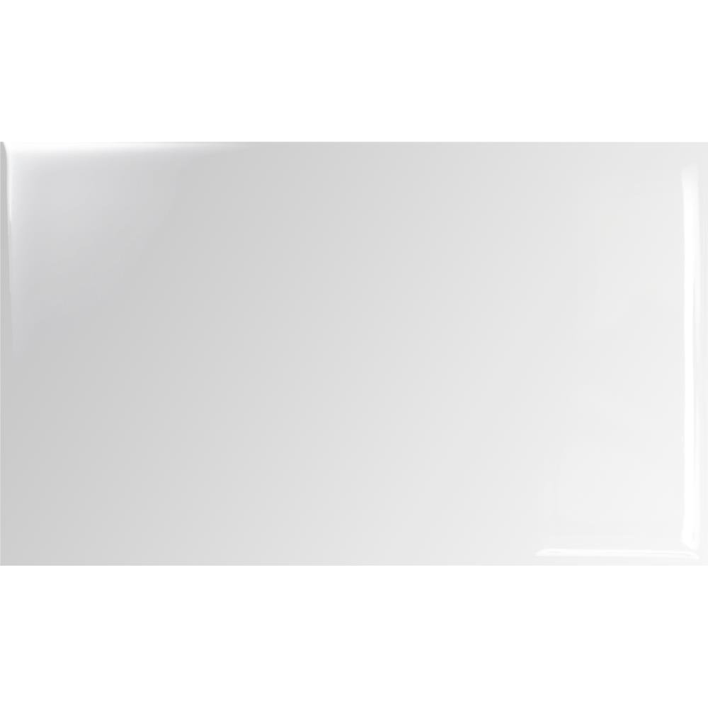 Tavolo Consolle 110 x 40 x 80 cm Nobilitato//Ferro Luxury Mobili Fiver Made in Italy Bianco Lucido