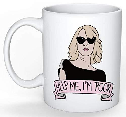 SkyLine902 - Bridesmaids Annie Mug (Kristen Wiig, SNL, Melissa McCarthy, Amy Poehler, Tina Fey, Kate McKinnon, 30 Rock, Parks and Rec), 11oz Ceramic Coffee Novelty Mug/Cup, Gift-wrap Available