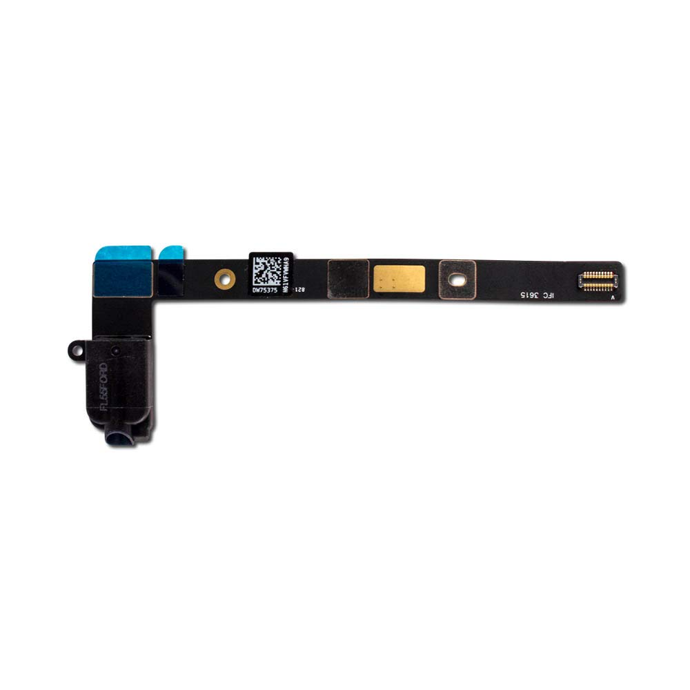 Headphone Jack Flex Cable Ribbon Connector for Black iPad Mini 4 (4G - Cellular) A1550 (7.9'')