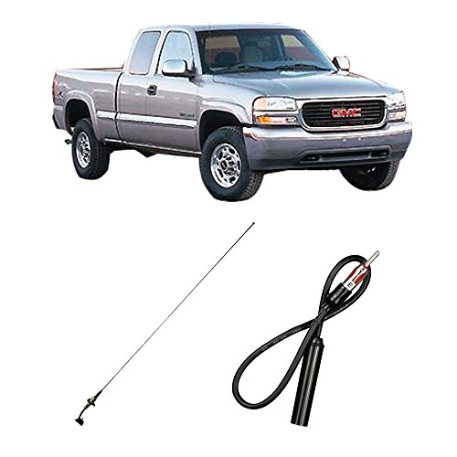 Fits GMC Sierra 1999-2006 Factory OEM Replacement Radio Stereo Custom Antenna Mast
