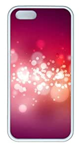 Brilliant circle of light TPU White for sale iphone 5 covers for Apple iPhone 5/5S