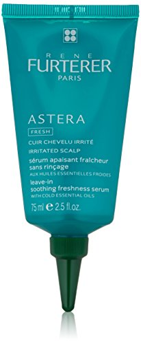 Rene Furterer ASTERA FRESH Leave-in Soothing Freshness Serum, Cooling Soothing Treatment, Irritated Itchy Scalp, 2.5 oz.