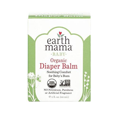Earth Mama Angel Baby Angel Baby Bottom Balm, 2-Ounce Jars (Pack of (Baby Herbal Diaper Rash Bottom)