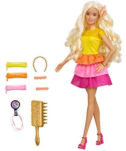 Barbie Ultimate Curls Doll 2, Multicolor