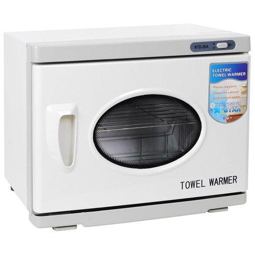 26L 2in1 Heated Towel Warmer Cabinet Salon UV Sterilizer