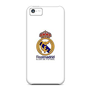 Hot Fashion Xpo2075qCRb Design Case Cover For Iphone 5c Protective Case (real Madrid Cf)