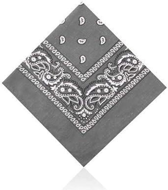 Pañuelo de Algodón con Estampado de Cachemira Juego de 3 Unidades ...