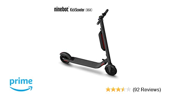Amazon.com : Segway Ninebot ES4 Folding Electric Kick ...