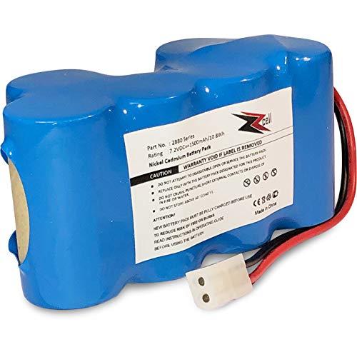 ZZcell Battery for Euro Pro Shark Vacuum Carpet and Carpet Sweeper XB1918, V1917, V1950, VX3