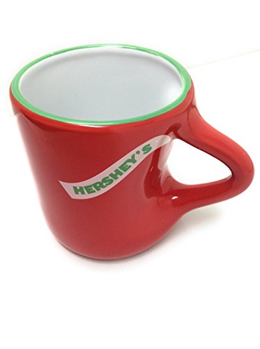- Fitz and Floyd Hershey's Kisses Merry Kisses Handle Mug Red 14 Oz