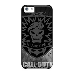 Anti-scratch Case Cover LastMemory Protective Black Ops Case For Iphone 5c Kimberly Kurzendoerfer