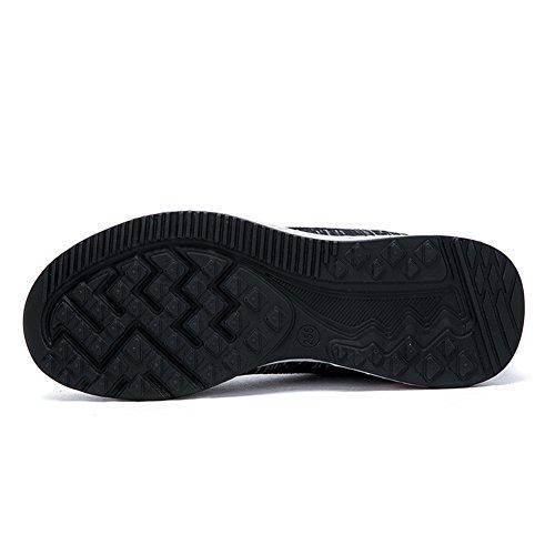 Running Chaussures De Fitness Multisports Baskets Gym Sneakers Respirant 45 Fexkean Mesh Gris 39 Bleu Noir Casual 9902 Orange Homme Outdoor Sport BqwC5S7