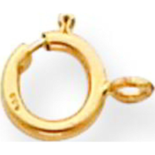 (18K Gold Spring Ring Clasp 8Y1702)
