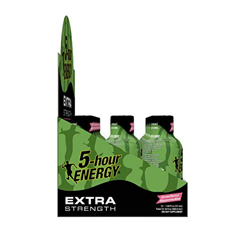 Extra Strength 5-hour ENERGY Shots – Strawberry Watermelon Flavor – 24 Count by 5-Hour ENERGY (Image #8)