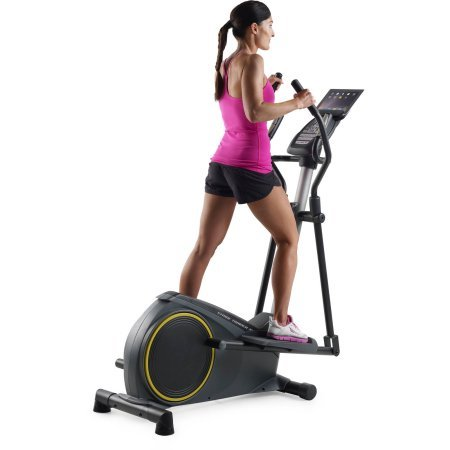 Golds Gym Stride Trainer 350i Elliptical with iFit Bluetooth Smart Technology
