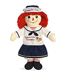 "Aurora World Support Our Troops Raggedy Ann Doll, 16"","