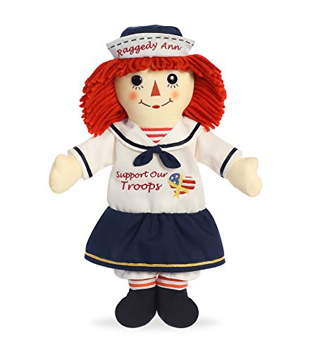 "Aurora World Support Our Troops Raggedy Ann Doll, 16"", NA"