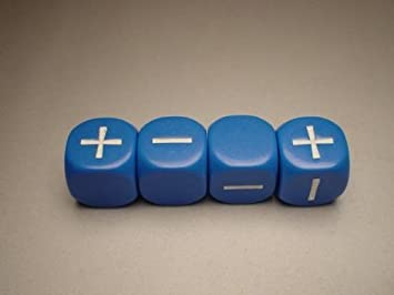 Fantasma gris Prensa 9004BL Fudge dados azules: Amazon.es: Juguetes y juegos