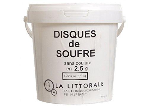 Sulfur Discs (Bulk) - 2.5 Grams (400 Discs)