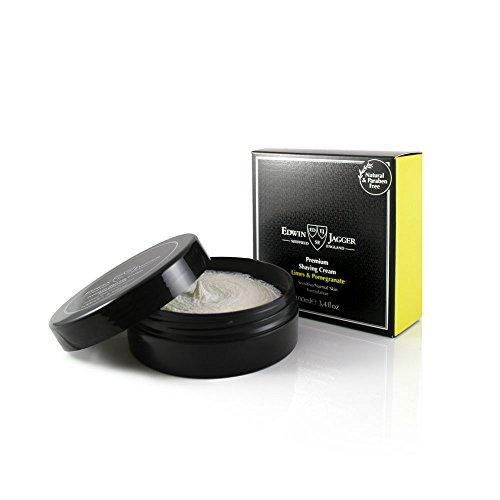 Edwin Jagger Shaving Cream - Edwin Jagger Premium Shaving Cream 100ml-Limes & Pomegrante