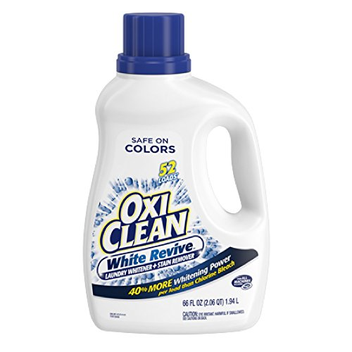 - OxiClean White Revive Liquid Laundry Whitener + Stain Remover, 66 Oz