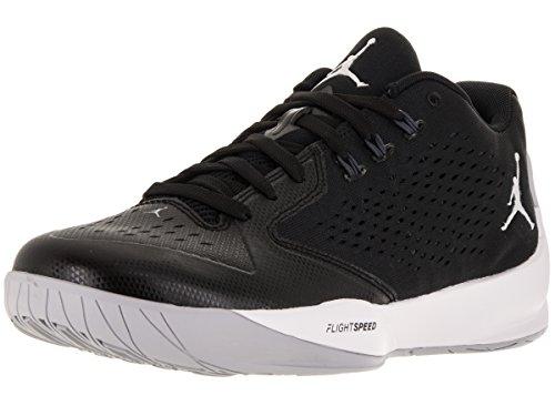 Homme Rising anthrct Slvr Basket Ball Negro Mtllc Low Noir Hi Jordan de Black Nike Espadrilles white afqFF8