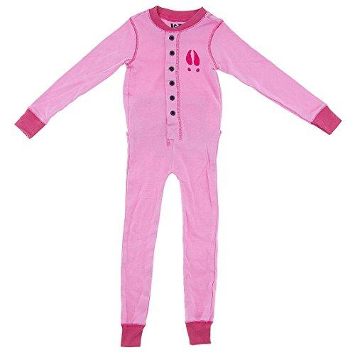 Lazy One Moose Caboose-Moose Kids Flapjacks Onesie Union Suit (Christmas Caboose)