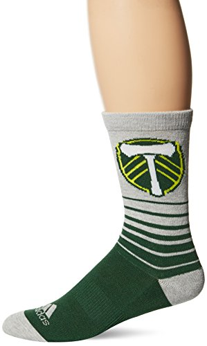 adidas MLS Mens Jacquard Pattern Crew Socks