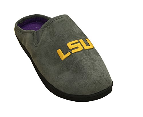 Outdoor Slipper Comfort LSU Tigers Grey Gold NCAA Indoor Mule 1qpPxTCCw