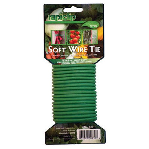 Luster Leaf Rapiclip Light Duty Soft Wire Tie 839