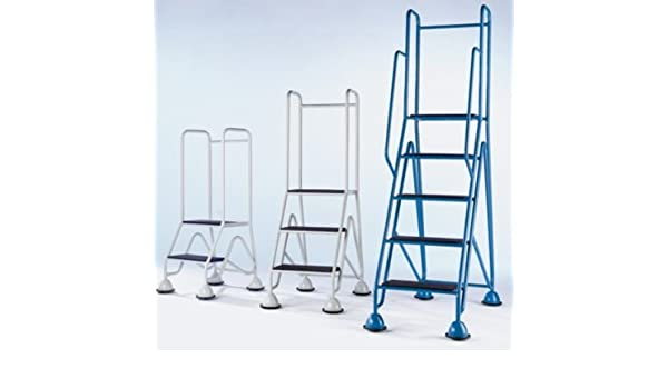 escabeaux de plataforma, móvil – 2 Peldaños, plataforma, contiene gris clair – plataforma de trabajo escalera escabeaux taburete escalones escalera escaleras – Escalera – escalera de taller escabeaux escabeaux de taller plataforma