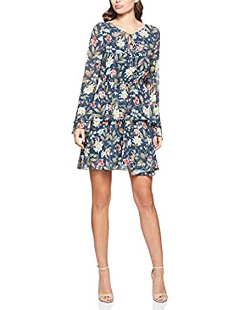 Cooper St Women's Kensington Bell Sleeve Mini Dress, Print, 10