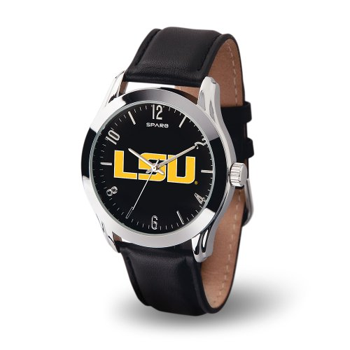 (NCAA LSU Tigers Classic Watch, Black)