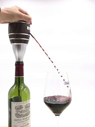 Zona Electric Wine Aerator,Wine decanter Pump and Dispenser for Wine and Spirit Battery Operated
