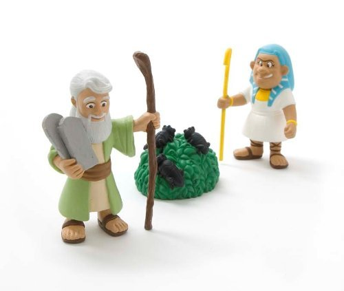 Tales of Glory - Moses and the Ten Plagues by Bible Toys (The Story Of Moses The Ten Plagues)