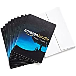 Amazon.com $15 Gift Cards, Pack of 10 with Greeting Cards (Amazon Kindle Design)