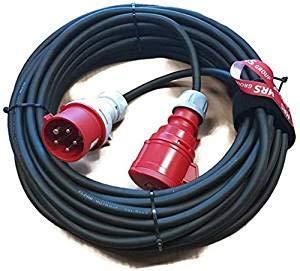 CEE Verl/ängerungskabel Starkstromkabel 16A 5x2,5mm/² MRS 10m 211210