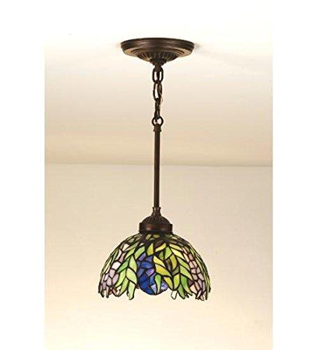 - Tiffany Honey Locust 1 Light Mini Pendant