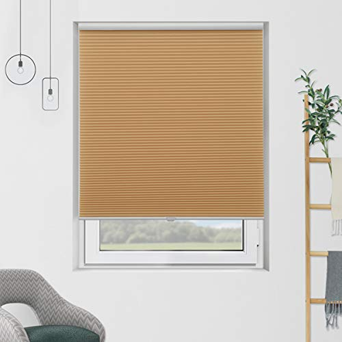 SBARTAR Cordless Blinds Cellular Shades Light Filtering Honeycomb Blinds and Shades for Window 29...