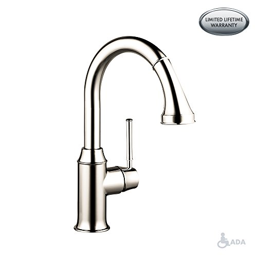hansgrohe Talis C Premium 1-Handle 15-inch Tall Kitchen Faucet with Pull Down Sprayer Magnetic...