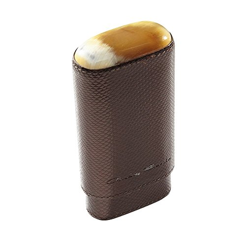 andre-garcia-3-finger-viper-cigar-case-w-buffalo-horn-black-brown
