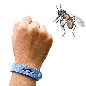 BYECHOW Braccialetto Repellente della zanzara, Tutti i Cinturini in Microfibra Replant Insetto al 100% a Base vegetale di zanzara per Bambini e Adulti 9 spesavip
