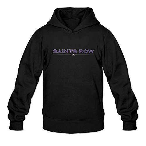 Price comparison product image JXK Men's Saints Row 4 Logo Hoodied Sweatshirt XXL ColorName Long Sleeve