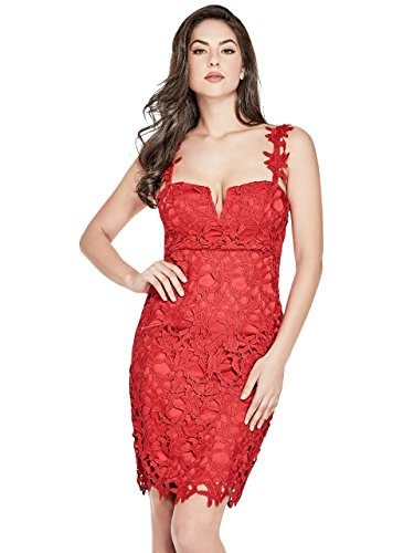 Guess Guess Abito Donna Rosso Donna Rosso Guess Abito Abito Donna Rosso Guess fAxHnTS