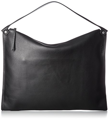 Ecco Sculptured Black Noir Shoulder portés Sacs épaule Bag 66WaZxqr