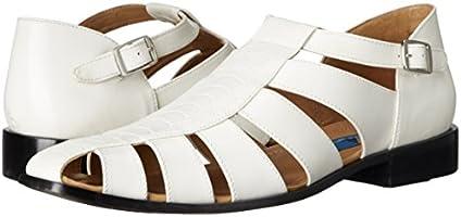 fcb7675259765 Giorgio Brutini Men's Quill Dress Sandal, White, 10 M US: Amazon.com