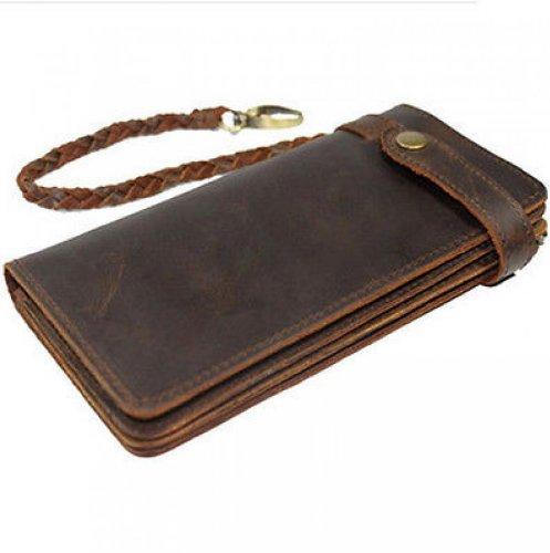 Women Bifold Vintage Leather Wallet