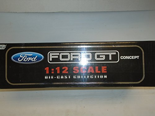 - Ford GT Concept 1:12 scale die cast model Black with silver stripes